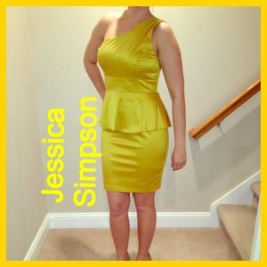 Jessica Simpson Peplum Dress