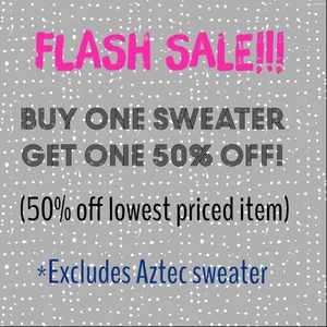 🌸Spring Flash Sale🌸BOGO Sweater get 50% off🌸