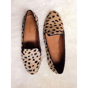 Madewell Shoes - 🆕Madewell Teddy Loafer in Leopard Calf Hair