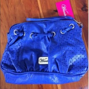 SALE ☀️ NWT Cobalt Blue wristlet by Wanted