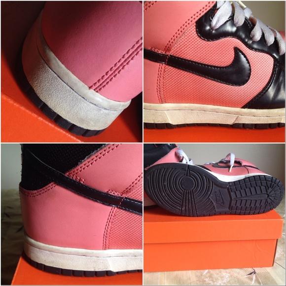 39 nike shoes firm nike dunk high black