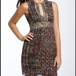 Nanette Lepore Silk 'Love Me' Dress 8 NWT