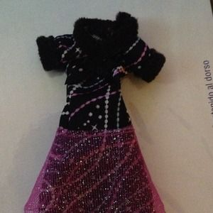 Used, Monster High Abbey Bominable Home Ick Dress for sale
