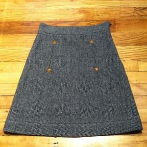 See by Chloe wool skirt