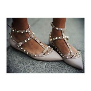 Valentino Shoes - Valentino studded flats
