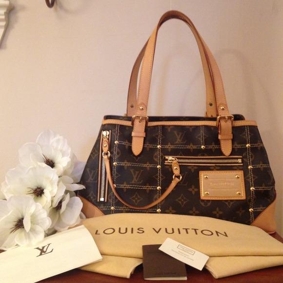 3d8c4e6a9 Louis Vuitton Bags | Authentic Riveting Gm Le | Poshmark