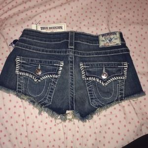 True Religion shorts!