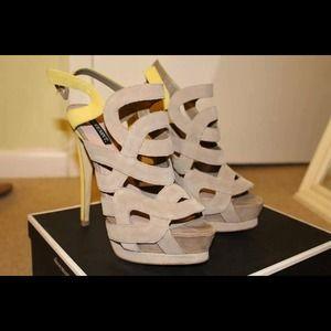 Shoemint sandals high heel shoes
