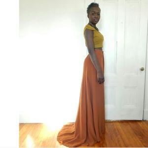 blk dnm Dresses & Skirts - Ultra Chic High Waist Gown Skirt-Size 8/10