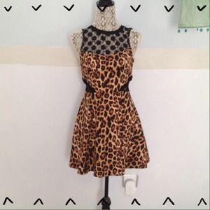 Adorable leopard dress