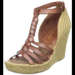 SALE Sam Edelman Straw Wedges