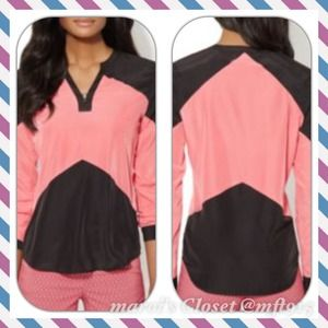 CHEVRON PINK AND BLACK CARDIGAN/JACKET