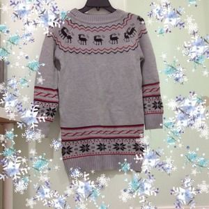 Cute oversized Christmas  sweater