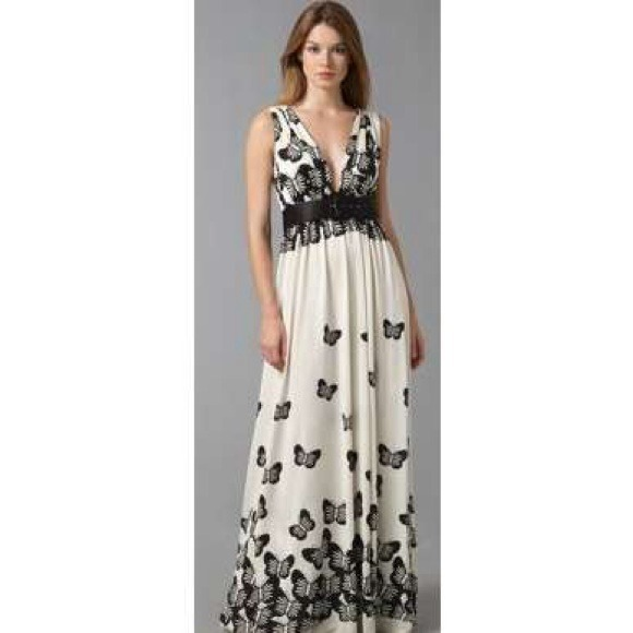 70e36f683bce Alice + Olivia Dresses & Skirts - Alice + Olivia long butterfly dress for  sale!
