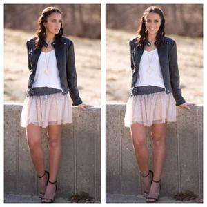 Haute hippie sequin tutu skirt S