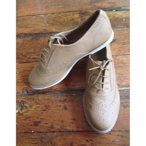 ASOS Shoes - ASOS Tan Oxfords NWT!