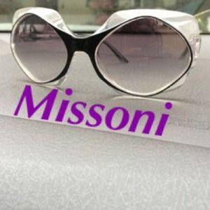 Missoni Accessories - 100% Authentic Missoni Clear Frame Sunglasses