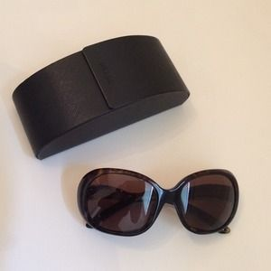 Prada Accessories - Authentic Oversized Prada Sunglasses