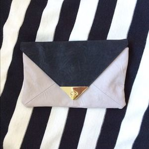 ASOS Color Block Envelope Clutch