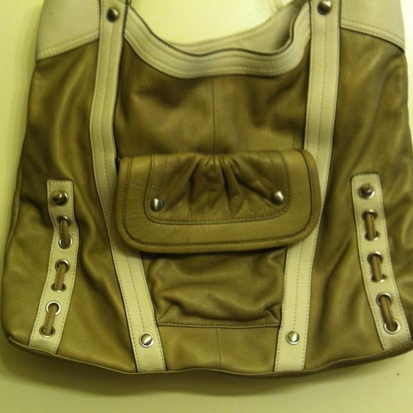 B. Makowski Handbags - B. Makowski All Leather Satchel