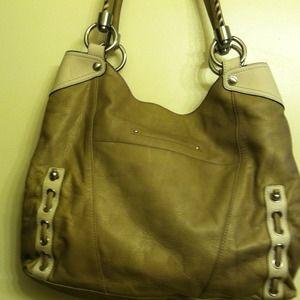 B. Makowski Bags - B. Makowski All Leather Satchel