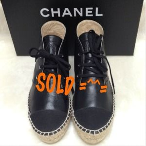 Authentic❤✨Brand New✨Chanel Espadrilles 2014