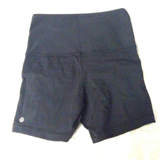 Lululemon Fold Over Yoga Shorts From