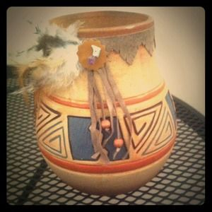 Accessories - Vintage Indian pot holder