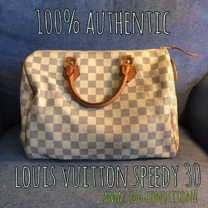 ✨100% Authentic Louis Vuitton Speedy 30✨