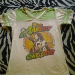 Catch -A-Fire  Bob Marley T-shirt