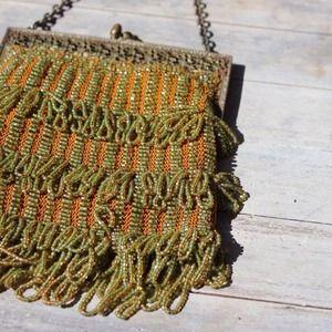Vintage Victorian Beaded Handbag