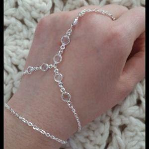 Jewelry - Crystal wrist chain