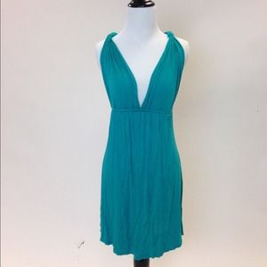Dresses & Skirts - Bright Teal Green Spring/Summer Jersey Dress