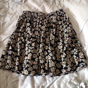 Brandy melville daisy heather skirt floral rare