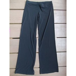Free People Pants - Black stretchy wide leg pants