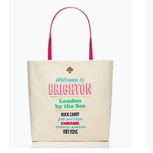 Kate Spade shopper Welcome to Brighton Purse tote