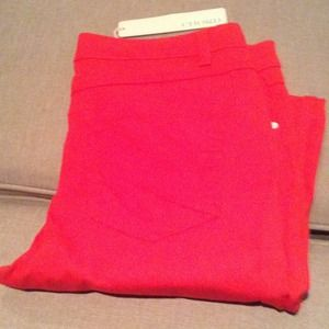 Chord pants size 11 brand new red