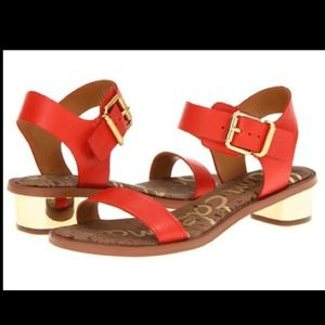 Sam Edelman Trina Sandals in Red