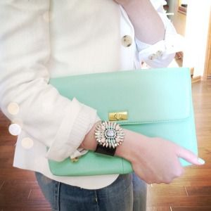 Jewelry - NEW Mint and Pink Cuff