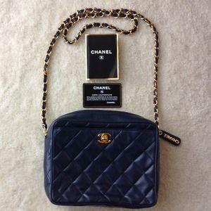 Gorgeous Chanel vintage camera bag