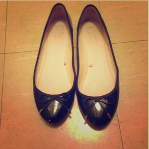 Black flats from zara I'm size 8