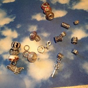 Bracelet Beads and Charms multiple