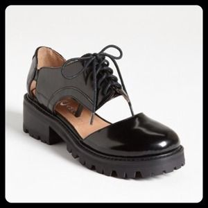 "Jeffrey Campbell Shoes - NWOB Jeffrey Campbell ""Missing"" cutout oxfords 7.5"