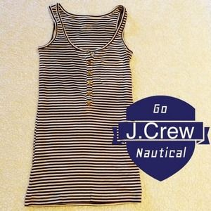 J. Crew Tops - J.Crew Striped Tank