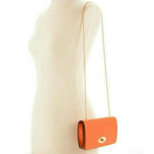 Melie Bianco Handbags - ☆HP☆ Gwyneth Foldover Clutch Orange