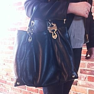 Michael Kors Luxe Black Bag