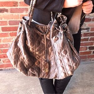 Authentic Quilted Ferragamo Bag