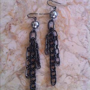 Jewelry - stylish chain link earrings