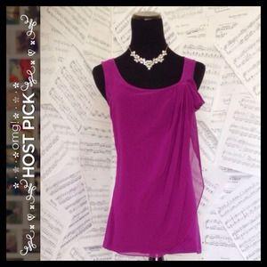 {Elle} Purple Top