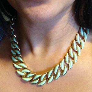Mint Link Necklace